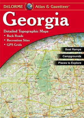 Georgia Atlas & Gazetteer DeLorme