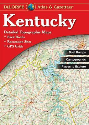 Kentucky Atlas & Gazetteer  by  Rand McNally