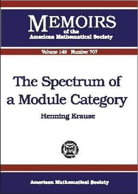 The Spectrum Of A Module Category  by  Henning Krause
