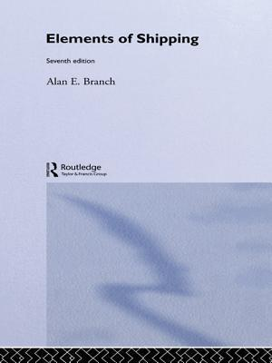 Elements of Shipping: 7th Edition Alan E. Branch