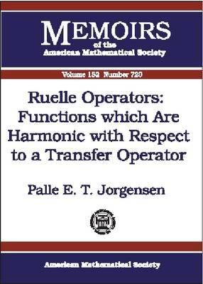 Ruelle Operators: Functions Which Are Harmonic with Respect to a Transfer Operator Palle E.T. Jorgensen