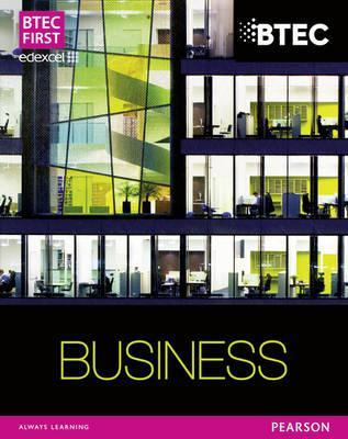 Btec Firsts in Business. Student Book Carol Carysforth