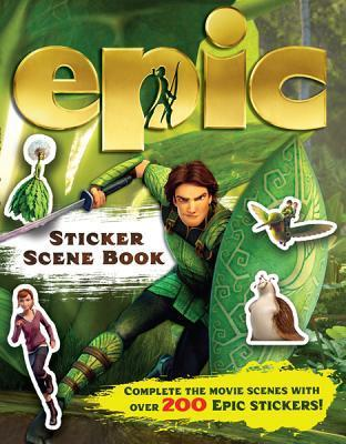 Epic Sticker Scene Book Carlton