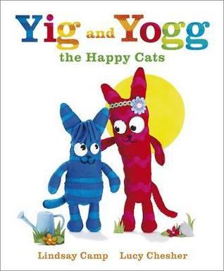 Yig and Yogg the Happy Cats.  by  Lindsay Camp by Lindsay Camp