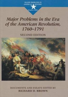Massachusetts: A Bicentennial History Richard D. Brown