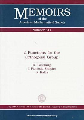 L Functions For The Orthogonal Group D. Ginzburg