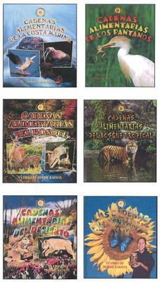 Spa-Cadenas Alimentarias -Lib Crabtree Publishing