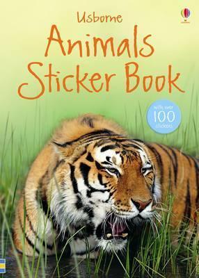 Animals (Spotters Sticker Book)  by  Rosamund Kidman Cox