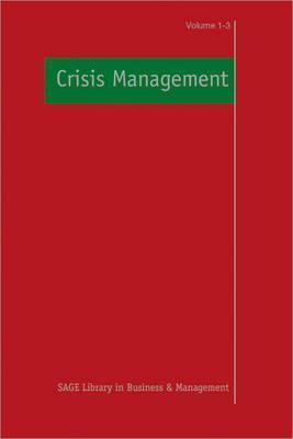 Crisis Management R A Boin