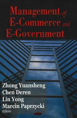 Management of E-Commerce and E-Government International Conference on Management o