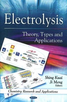 Electrolysis: Theory, Types and Applications Shing Kuai