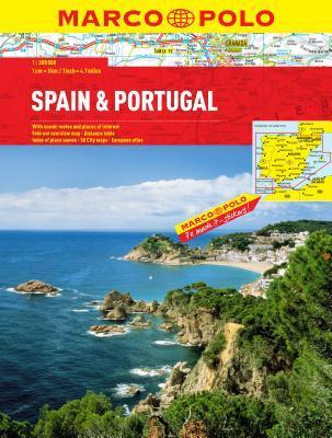 Spain/Portugal Marco Polo Atlas  by  Marco Polo Guide