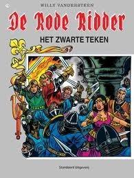 Het zwarte teken (De Rode Ridder #173) Karel Biddeloo