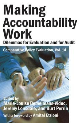 Making Accountability Work: Dilemmas for Evaluation and for Audit Burt Perrin