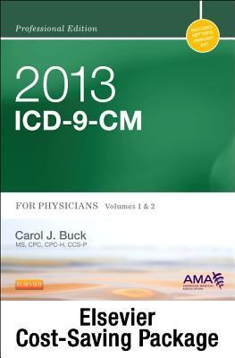 2013 ICD-9-CM, for Physicians, Volumes 1 and 2 Professional Edition (Spiral Bound) with 2012 HCPCS Level II Professional Edition and 2012 CPT Professional Edition Package Carol J. Buck
