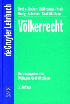 Volkerrecht G. Vitzthum