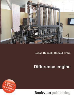 Difference Engine  by  Jesse Russell