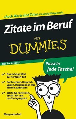 Zitate Im Beruf Fur Dummies Das Pocketbuch Margarete Graf