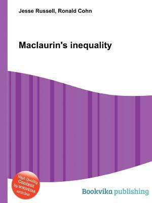 Maclaurins Inequality Jesse Russell