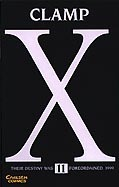 X, Band 11  by  CLAMP