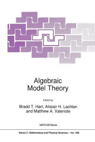 Algebraic Model Theory  by  Bradd T. Hart