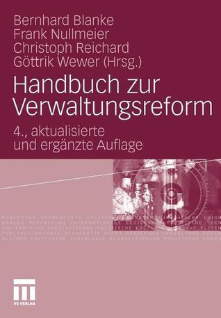 Handbuch Zur Verwaltungsreform Bernhard Blanke