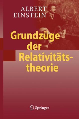 Grundzuge Der Relativitatstheorie Albert Einstein
