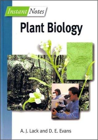 Instant Notes Plant Biology A.J. Lack