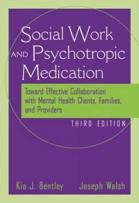 Psychiatric Medication Issues for Social Workers, Counselors, and Psychologists Kia J. Bentley