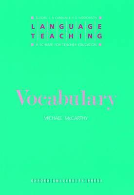 Vocabulary  by  Michael  McCarthy