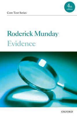 Evidence R. J. C. Munday