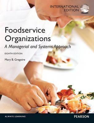 Food Service Organizations Gregoire Mary B