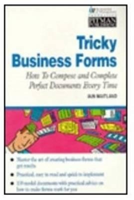 Tricky Business Forms Iain Maitland