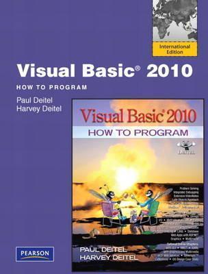 Visual Basic 2010: How to Program Paul J. Deitel