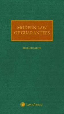 Modern Law of Guarantees Richard Salter