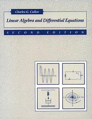 Matrices & Linear Transformations Charles G. Cullen