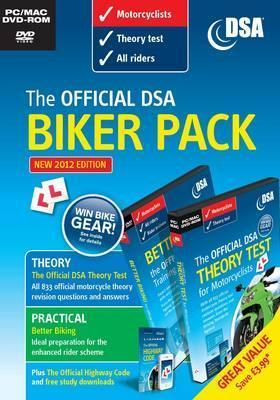 The Official Dsa Biker Pack - Theory Test and Better Biking Driving Standards Agency (Great Britain)