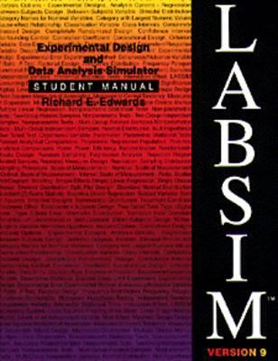 Labsim: Experimental Design and Data Analysis Simulator, Version 9  by  Richard E. Edwards
