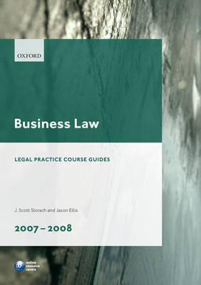 Business Law 2007-2008  by  Jason G. Ellis