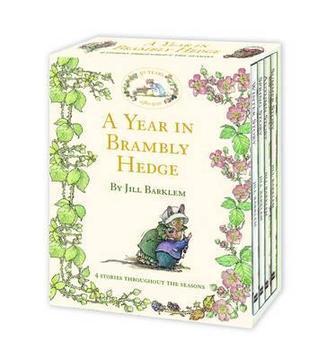 A Year in Brambly Hedge.  by  Jill Barklem by Jill Barklem