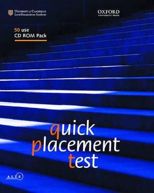Quick Placement Test: 50 User Cd Rom Pack  by  Oxford University Press