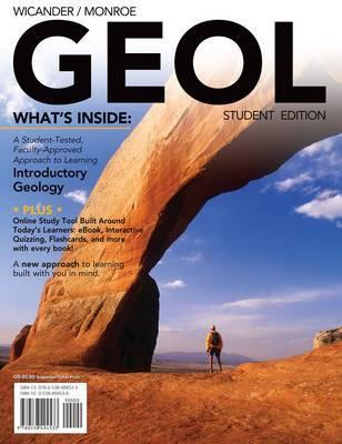 Geol (with Earth Science Coursemate with eBook Printed Access Card and Virtual Field Trips in Geology)  by  Reed Wicander