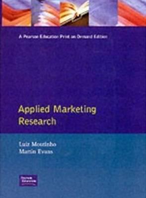 Applied Marketing Research Luiz Moutinho