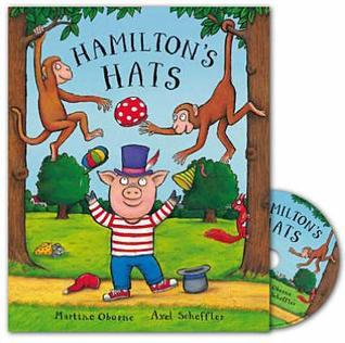 Hamiltons Hats Book and CD Pack Martine Oborne