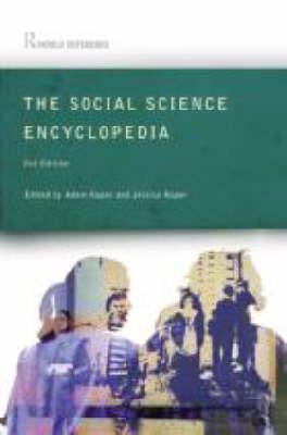 The Social Science Encyclopedia Adam Kuper