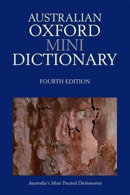 Australlian Oxford Mini Dictionary Mark Gwynn