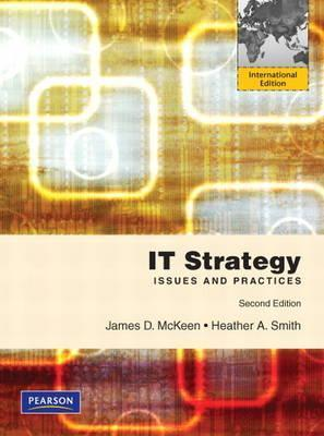 It Strategy  by  James D. McKeen
