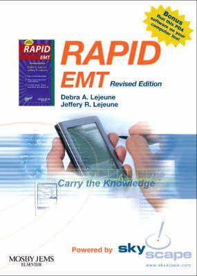 Rapid EMT (Revised Reprint) - CD-ROM PDA Software Powered  by  Skyscape by Debra A. Lejeune