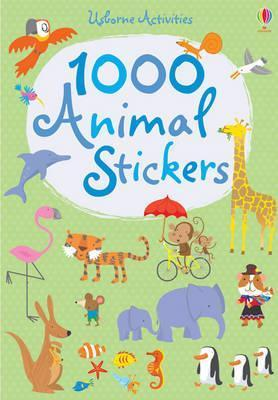 1000 Animal Stickers  by  Fiona Watt