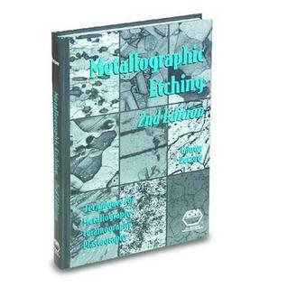 Metallographic Etching, 2nd Ed.  by  Günter Petzow